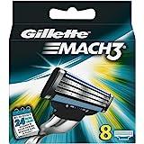 Gillette MACH3 Cuchillas, 8 unidades