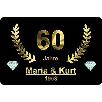 Amazonde Verlag He Xxl Fußmatte Diamant Hochzeit