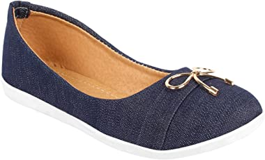 Just Lady Blue Casual Shoes for Women (JUSTLADY034)