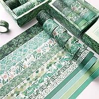 artigianato fai da te e libri Multicolore 10. Joyce Hugh Washi Tape 20 rotoli di nastro decorativo per fai da te