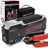 AUTOGEN 4000A Avviatore di Emergenza per auto, Avviatore Batteria Auto (10.0L + Benzina e Diesel), avviatore Booster Portatil