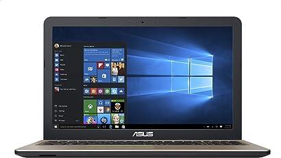 """Asus X540NA-GQ017 Notebook, Display da 15.6"""", Processore Celeron N3350, 1.1 GHz, HDD da 500 GB, 4 GB di RAM, Chocolate Black [Layout Italiano]"""