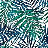 murando Carta da parati adesiva 10 m Tropicale Foglie Stickers Murali Carta da parati moderna Fotomurali adesivi Carta da parati autoadesiva Fotomurale Stickers da muro Natura b-B-0311-j-a