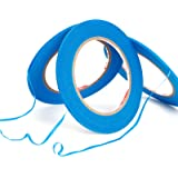3 rollen sierstripband sierlint contourband kleurlint plakband schilder lakmachine Airbrush masking tape band 3 mm x 55 m bla