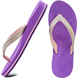 ONCAI Flip Flops Womens Yoga Mat Comfortable Beach Thong Sandals With Arch Support