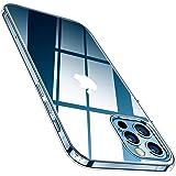 TORRAS Coque Compatible avec iPhone 12 Pro Max (6.7 Pouces) (Transparente et Résiste Jaunit) Souple TPU & Ultra Fine Parfaite