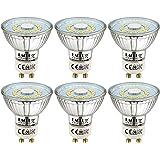 EACLL Bombillas LED GU10 4000K Blanco Neutro 5W Fuente de Luz 495 Lúmenes Equivalente 50W Halógena. AC 230V Sin Parpadeo Foco