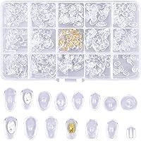 HQdeal 150 Paires Coussinets de Nez pour Lunettes,Plaquettes de Lunettes en Silicone Souple Antidérapant, Plaquettes de…