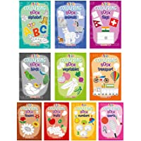 Little Colouring Books for Kids (Set of 10 Books) - Gift to children for painting, drawing and colouring - Alphabets…