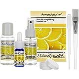 Fruchtsäurepeeling 70%, 0,5 pH, Sofort-Starter-Set, Profiheimbehandlung, AHA Glycolsäure Peeling