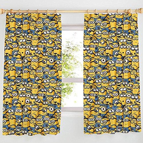 Minions Sea of lápiz Pliegue Cortinas 54