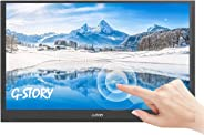 G-STORY 15.6 Inch Ultrathin Touchscreen, FHD 1080P Portable Monitor, NS Direct-Connected/TN Panel/Mini HDMI/Built-in Speakers