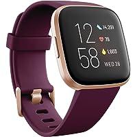 Fitbit Versa 2 Amazon Exclusive – Gesundheits- und Fitness-Smartwatch mit Sprachsteuerung, Schlafindex und Musikfunktion…