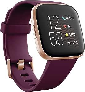 Fitbit Versa 2 Smartwatch per Benessere e Forma Fisica con Controllo Vocale, Punteggio del Sonno e Musica, con Alexa Integrata, Limited Edition