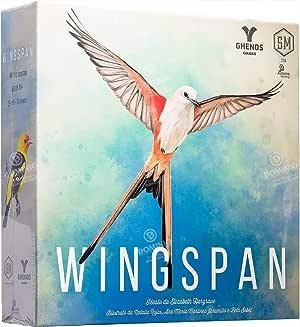 Ghenos Games- Wingspan, Multicolore, 1
