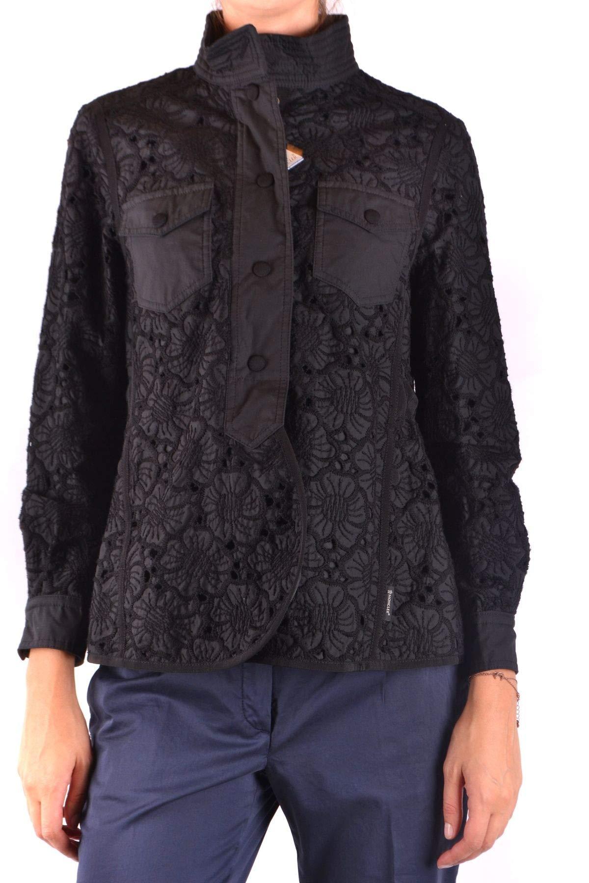 wholesale dealer 85700 87d38 Moncler Giacca Outerwear Uomo MCBI35523 Cotone Nero - Face Shop