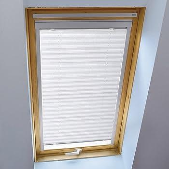 matrasa Sonnenschutz-Plissee für Dachfenster - Sonnenschutzplissee ...