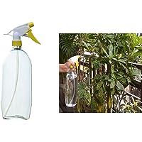 Multipurpose Home & Garden Water Spray Bottle Yellow Nozzle