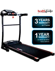 Healthgenie 3911M 2.5 HP Peak Motorized Treadmill for Home Use & Fitness Enthusiast (Free Installation Assistance)