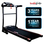Healthgenie 3911M 2.5 HP at Peak, Light Weight Foldable Motorized Treadmill for Home Use & Fitness Enthusiast, Max Speed...