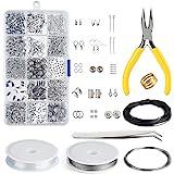 Kuuqa Kit di creazione di gioielli Kit di creazione di gioielli Kit di creazione di gioielli e perline