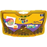 BIC Kids Yağlı Pastel Boya, 12'li Sert Plastik Kutu