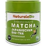 Biologische Matcha Thee in poeder [ CEREMONIËLE KWALITEIT ] 30 gram. Bio Japanse Groene Matcha-Thee van de Hoogste Kwaliteit.