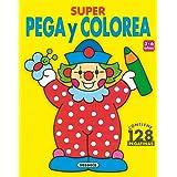Super Pega Y Colorea - 1 (Súper Pega Y Colorea)