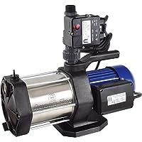 Agora-Tec® AT-Hauswasserwerk-5-1300-10DW, 5 stufige Kreiselpumpe mit max: 5,6 bar und max: 5400l/h und Druckschalter mit…