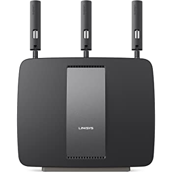 Linksys AC3200 Tri-Band Smart Wi-Fi Router with Gaming and USB, Designed for Device-Heavy Homes, Smart Wi-Fi App Enabled to Control Your Network from Anywhere (EA9200-4A)