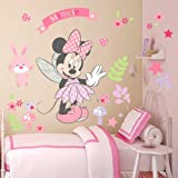 Kibi Pegatinas Infantiles Pared Minnie Pegatinas Decorativas Pared mickey Mouse Stickers Pared Mickey Dormitorio Calcomanias