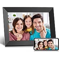 Digitaler Bilderrahmen WLAN 10,1 Zoll, Elektronischer Bilderrahmen mit HD IPS Touchscreen, 16 GB Speicher, Automatisches…