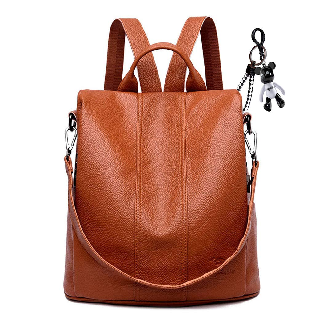 a97e8467c9c AINUOEY Women's Backpack Handbags Rucksack Shoulder Bags PU Leather Mini  Kawaii Anti-theft