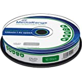 MediaRange MR450 DVD+RW 4,7GB (4x Speed, wiederbeschreibbar, 10 Stück)