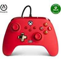 PowerA Enhanced Wired Controller for Xbox - Red, Gamepad, Wired Video Game Controller, Gaming Controller, Xbox Series X…