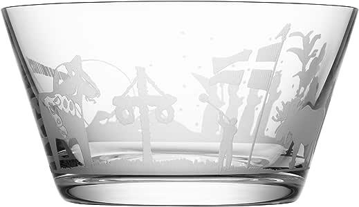 Orrefors Sweden Symbols Schüssel, transparent