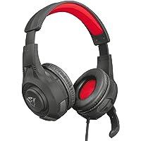 Trust Cuffie Gaming GXT 307 Ravu con Microfono Ripiegabile e Archetto Regolabile, 3.5 mm Jack, Filo, Over Ear, PC, PS4…