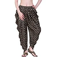 Stylewhile® Rayon Full Length Free Size Printed Dhoti Pant For Women