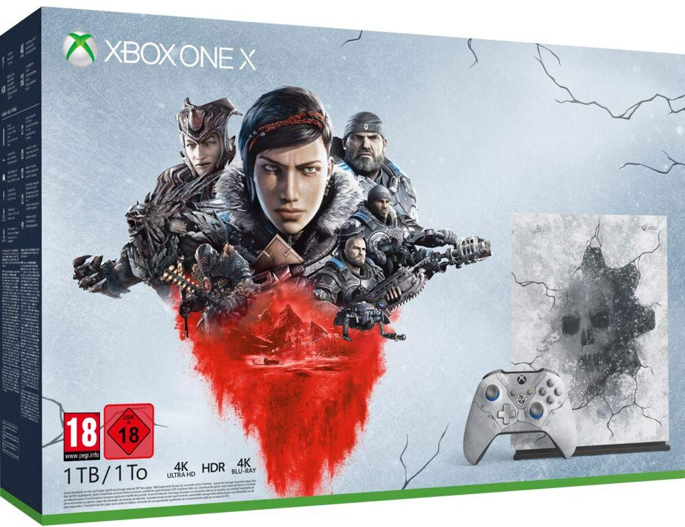 Console Edition Limitée – Gears 5 ultimate pour Xbox One X