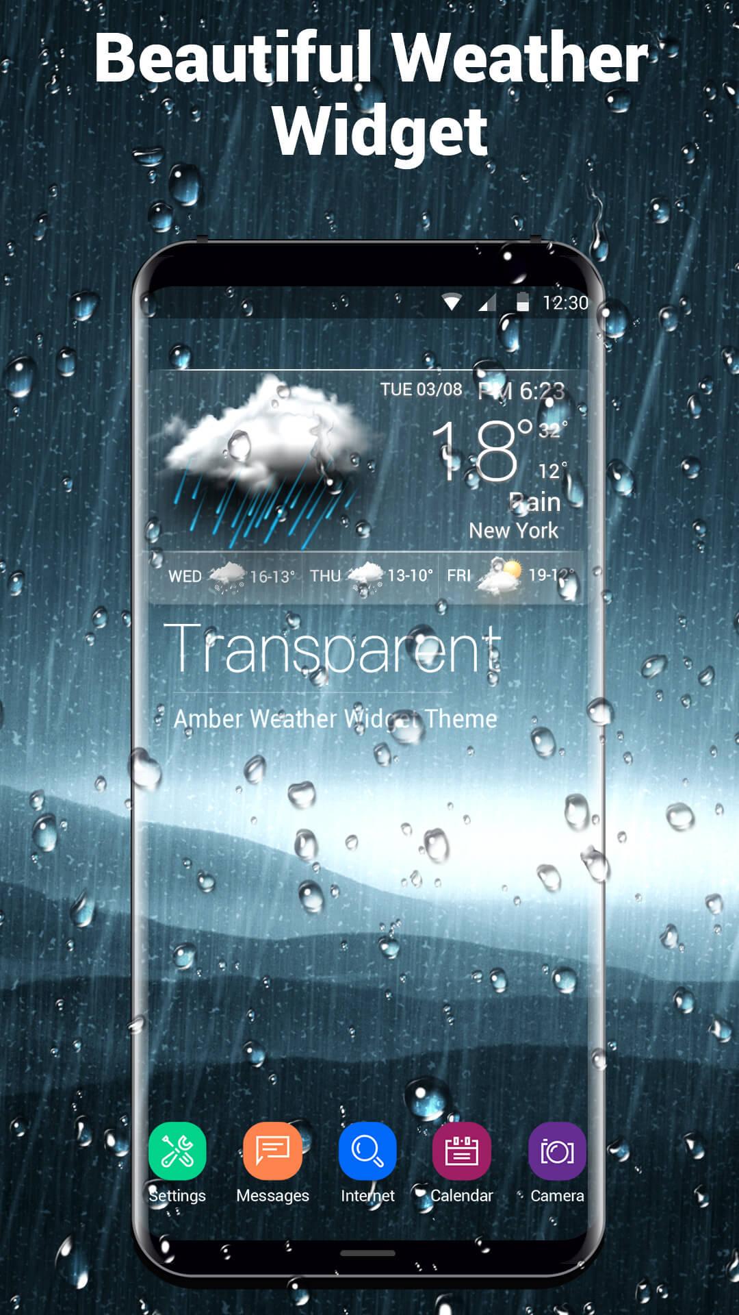 Live wetter app als hintergrund