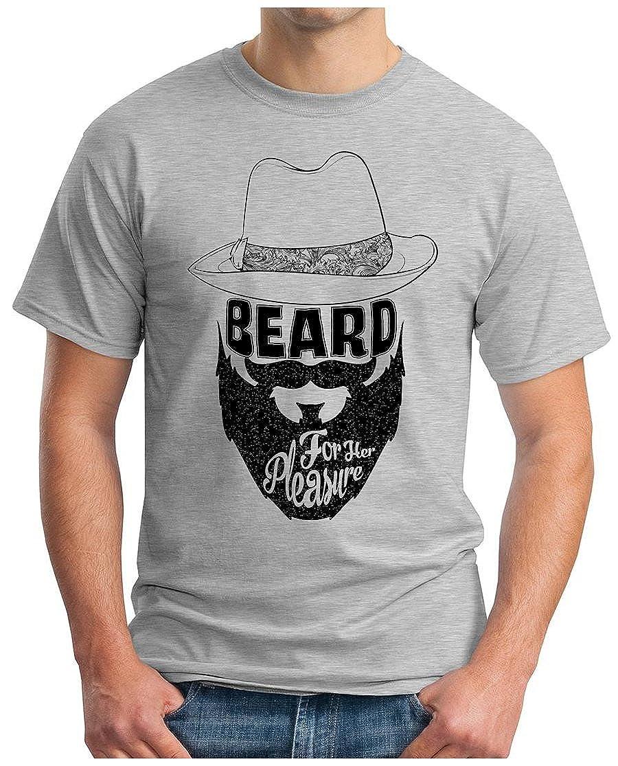 OM3 - BEARD-FOR-HER-PLEASURE - T-Shirt BART KULT HIPSTER BLOGGER CULT  OLDSCHOOL ART GEEK NYC, S - 5XL: Amazon.de: Bekleidung