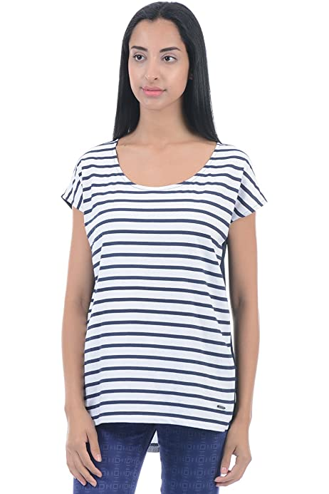 Buy Pepe Jeans London Ladies Cotton Tops 8903872294756 At Amazon In