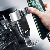 Supporto Smartphone per Auto Supporto gravità in Alluminio, Porta Cellulare da Auto per iPhone 11 PRO Max XS Max XR Samsung S