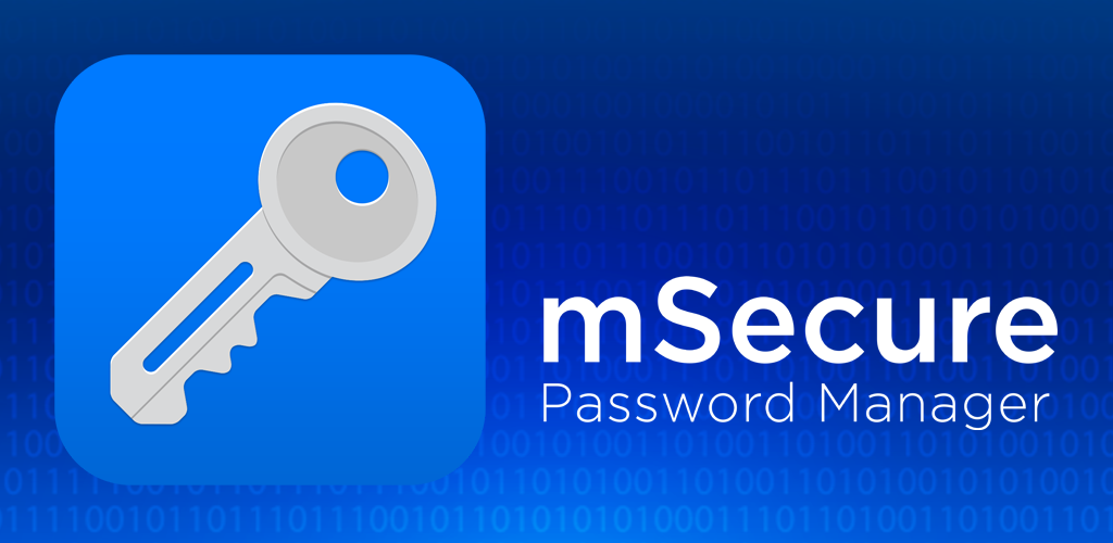 mSecure Password Manager Screenshot