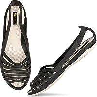SPUNTER Narrow Flat Sandal for Women & Girls