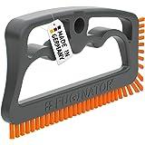 Fuginator® Cepillo para juntas, color gris/naranja, innovación de 100% reciclado, limpieza de juntas en el hogar, patentado y