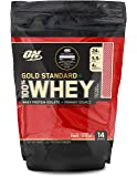Optimum Nutrition (ON) Gold Standard 100% Whey Protein Powder - 1 lb, 454 g (Delicious Strawberry), Primary Source…