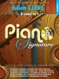 Piano Signature Julien Clerc + CD