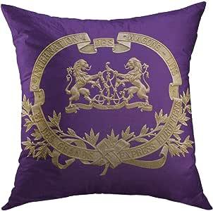 Mugod Pillow Cover Stripes Lavendar