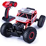 Jack Royal 1:18 Scale Rock Crawler 4 WD RC - Rally Car (Assorted Colors) red